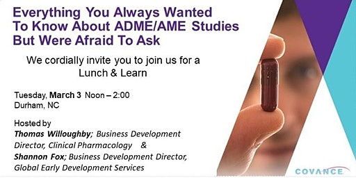 Everything You Want to Know About ADME/AME Studies (NC)
