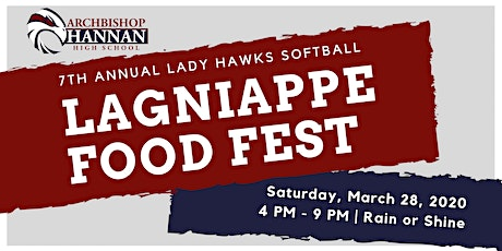 Lagniappe Food Fest (hosted by Lady Hawks Softball) tickets
