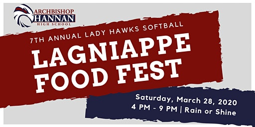 Lagniappe Food Fest (hosted by Lady Hawks Softball)