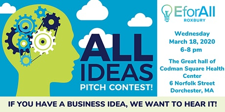 EforAll Roxbury All Ideas Pitch Contest tickets