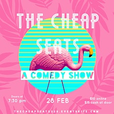 The Cheap Seats!: A Comedy Show at The Secret Alley tickets