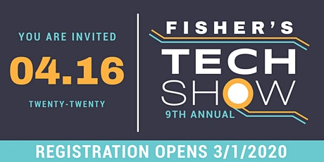 2020 Fisher's Technology Show tickets