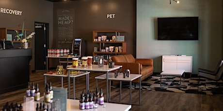 Curious About CBD?  We have answers!  And awesome products to sample! tickets