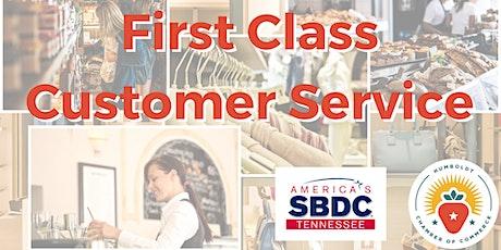 First Class Customer Service Workshop tickets