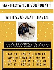 Manifestation Sound Bath with Gina from Soundbath Haven tickets