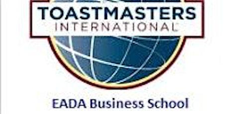 EADA Toastmasters - Public Speaking Club tickets