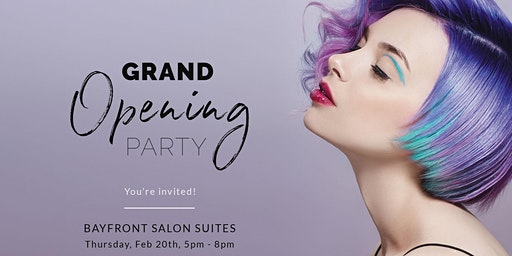 Bayfront Salon Suites Grand Opening Party