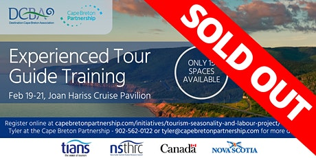 Experienced Tour Guide Training (SOLD OUT) tickets
