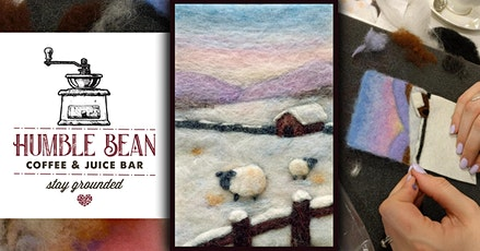 Wool Paint Night: Needle Felt a Winter Scene tickets