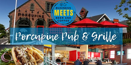 Business Meets Beer at Porcupine (University Location) tickets