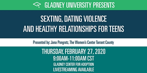 Sexting, Dating Violence and Healthy Relationships for Teens