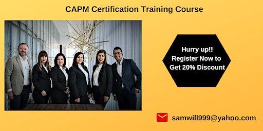 CAPM Certification Training in Atascadero, CA