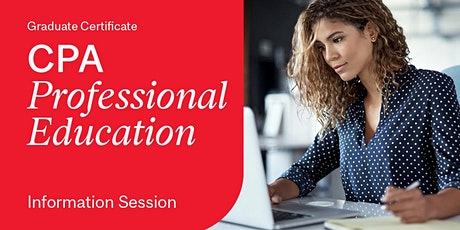 Information Session: Graduate Certificate in CPA Professional Education tickets