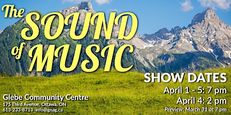 Friday - Sound of Music tickets
