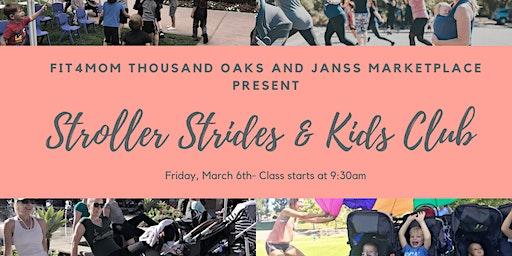 Stroller Strides at Janss Marketplace & Kids Club returns!