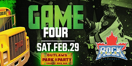 Outlaws Park and Party Rush Vs Toronto Rock tickets