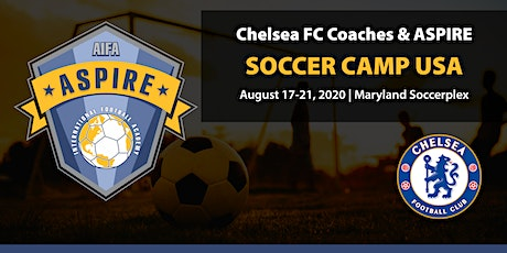 The Chelsea FC Coaches & Aspire International Soccer Camp USA 2020 tickets