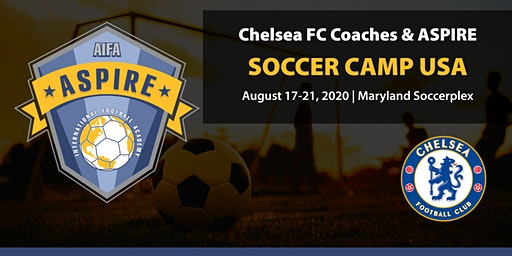 The Chelsea FC Coaches & Aspire International Soccer Camp USA 2020