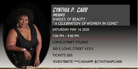 Cynthia P. Carr SHADES OF BEAUTY A Celebration of Women In Song  tickets