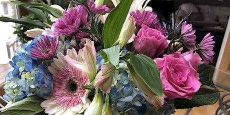 Draft & Craft: Make a fresh floral arrangement for your Valentine tickets