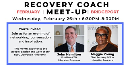 RECOVERY COACH MEET-UP  :  FEBRUARY tickets