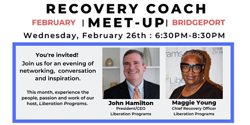 RECOVERY COACH MEET-UP  :  FEBRUARY
