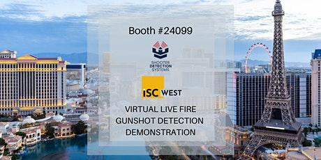 ISCW Booth #24099 Gunshot Detection Demo tickets