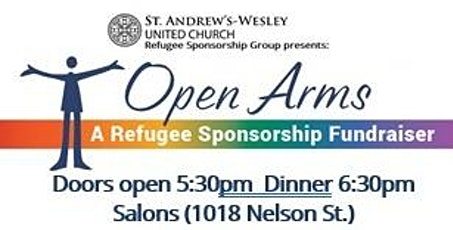 Open Arms: A Refugee Sponsorship Fundraiser tickets