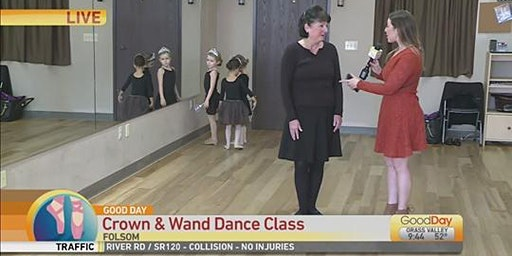 Four Dance Classes & FREE Crown & Wand for $25.00