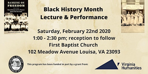 """Lecture - """"Black Women's Political Culture in Virginia Then and Now"""""""