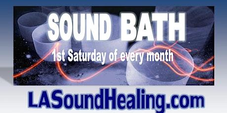 Restoration Sound Bath with Monique Hitzman tickets