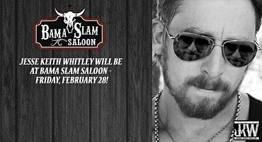 Jesse Keith Whitley at Bama Slam Saloon
