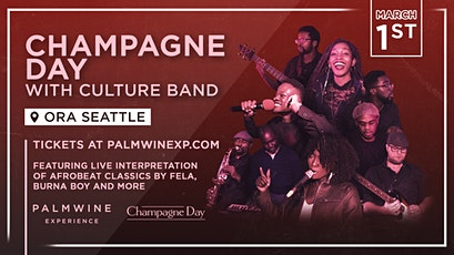 Champagne Day with Culture Band tickets
