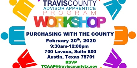 Travis County Advisor Apprentice Program Orientation/Session ! tickets