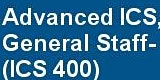 G0400: ICS 400: Advanced Incident Command System for Command and General Staff-Complex Incidents, Jackson June 17-18, 800-1700 both days (RO/)