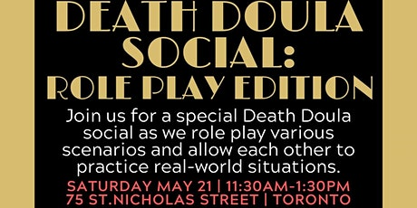 Death Doula Social: Role Play Edition tickets