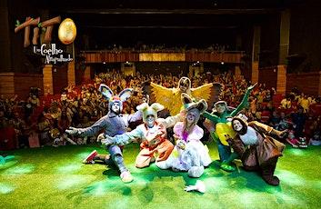 """Espetáculo """"Tito, um coelho atrapalhado"""" 2020 ingressos"""