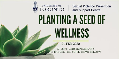 Planting a Seed of Wellness tickets