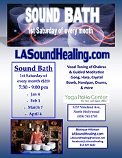 Restoration Sound Bath with Monique Hitzman tickets