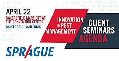 Innovation In Pest Management 2020-Bakersfield