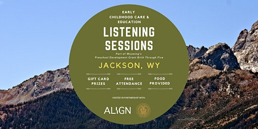 Jackson Early Childhood Care & Education Listening Session — Evening