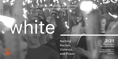 White __________:  Naming Racism, Violence, and Power