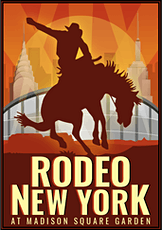 "The Cowboy Channel's ""Rodeo New York"" tickets"