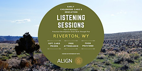 Riverton Early Childhood Care & Education Listening Session — Daytime tickets