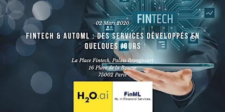 Fintech & AutoML : des services développés en quelques jours tickets