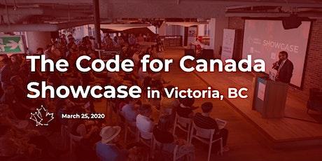 2020 Code for Canada Showcase (Victoria) tickets