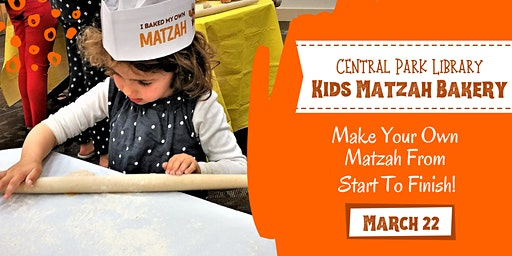 Kids Matzah Bakery at Central Park Library