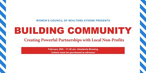 WCR Industry Event- Building Partnerships with Local Non-Profits