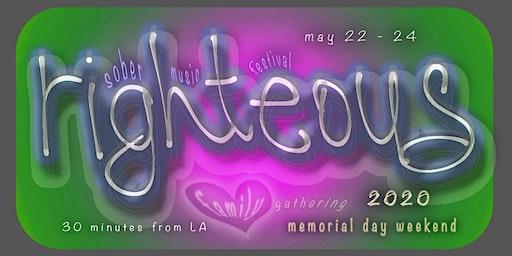 Righteous 2020 ~ Easter ~ Music & Art Festival ~