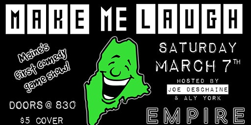 MAKE ME LAUGH @ Empire Comedy Club